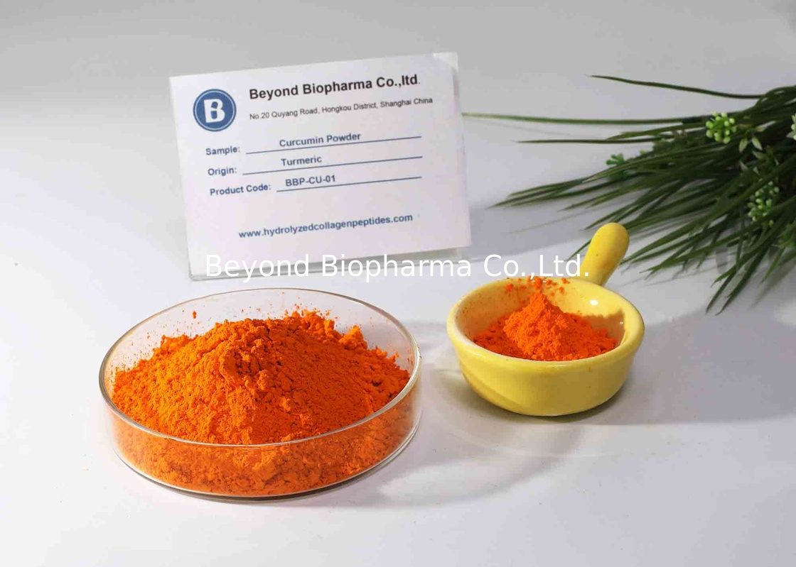 CAS NO. 458-37-7 Curcumin Powder With 95% Content Of Total Curcuminoid