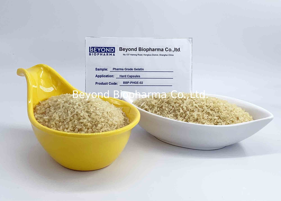 Pharma Grade Gelatin Particles For Product Hard Capsules / Soft Gel